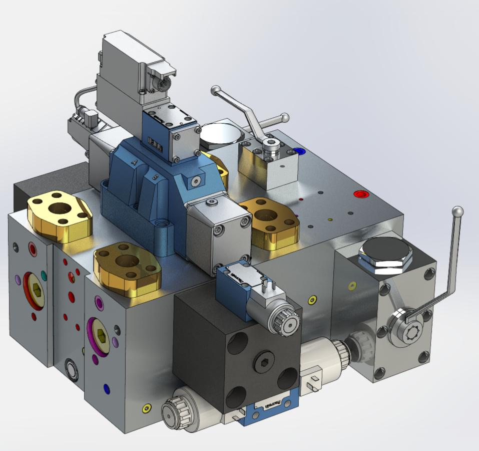 Hydraulic Manifold Block Design Pdf